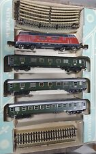Marklin HO Vintage #3121 Train Set - # 200027 Locomotive and 3 Passenger Cars