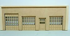 1/24 SCALE DIORAMA FIRE HOUSE/TRUCK/ AUTO CENTER OPENING DOORS UNFINISHED
