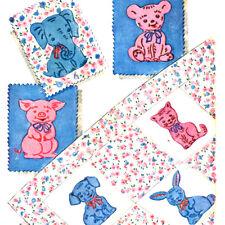 Vintage Child's Crib Quilt Animals Pattern