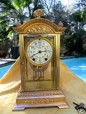 Antique Seth Thomas Empire #19 Crystal Regulator