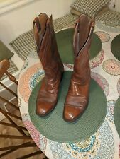 MENS LUCCHESE 2083 COWBOY BOOTS SIZE 10D