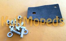 MZ Unterlage Gummi Schrauben Gepäckträger hinten TS150 TS125 ES125 ES150 schwarz