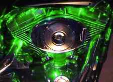 Green 32 LED Pod Motorcycle Accent Light Kit