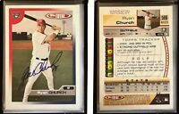 Ryan Church Signed 2005 Topps Total #566 Card Washington Nationals Autograph