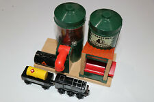 Thomas The Tank Engine Wooden Railway Diesel Fuelling Depot Rare long retired