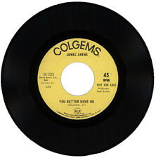 "JEWEL AKENS  ""YOU BETTER MOVE ON c/w IT'S A SIN TO TELL A LIE"" DJ NORTHERN SOUL"