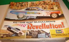 REVELL ED ACE McCULLOCH REVELLUTION FUNNY DEMON VINTAGE Model Car Mountain 1/16
