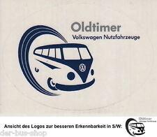 VW Bus T1 - Aufkleber - VW Nutzfahrzeuge Oldtimer - Blau - NEU