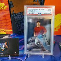 2010 Bowman Platinum Prospects Mike Trout  RC Angels #PP5 Mint PSA 9