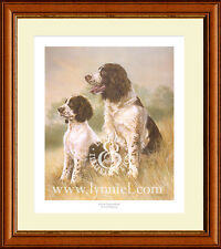 SPRINGER SPANIEL dog fine art print 'Great Expectations' by Lynn Paterson