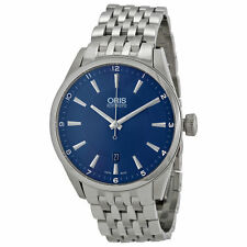 Oris Stainless Steel Wristwatches with Date Indicator