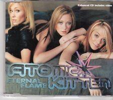 (EY266) Atomic Kitten, Eternal Flame - CD