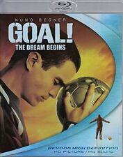 Goal The Dream Begins (Blu-ray Disc, 2006)