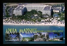 Recipe postcard WW Travel Coconut Cake Aruba Marriot Hotel Casino greetings