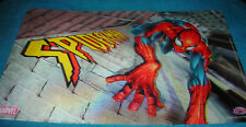 MARVEL SPIDERMAN 3D LENTICULAR TABLE PLACE MAT