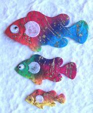 24 Fish batik assortment Handmade Mulberry Paper tropical Scrapbooking Fishing