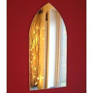 Gothic Arch Shaped Acrylic Mirrors - Various Sizes