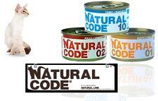 natural code scatolette per gatto 85 gr mix gusti 67 pz
