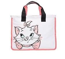 Nwt Disney Store Marie Aristocats Large Zipper Tote Purse Bag