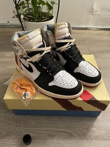 Size 10.5 - Jordan 1 Retro High x Union Black Toe 2018 (Read description)