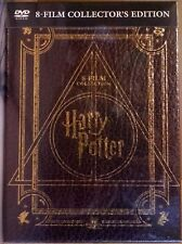 Harry Potter 8 DVD Warner Video + Booklet Magical Collection Collector's Edition