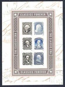US #5079 Classics - Forever Stamp Souvenir Sheet of 6 - FoXriVER -