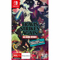 Travis Strikes Again No More Heroes Nintendo Switch Brand New AU Stock Free Post