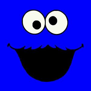 Cookie Monster Sesame Street Funny Comic Mens Ladies Kids T-Shirt S-XXL Size