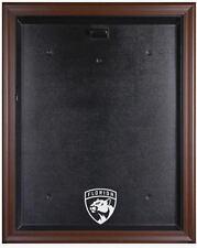 Florida Panthers Hockey Jersey Display Case - Wood Frame