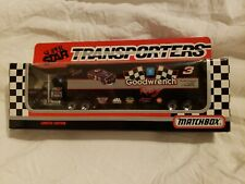Dale Earnhardt #3 Goodwrench 1992 Matchbox Super Star Transporters.