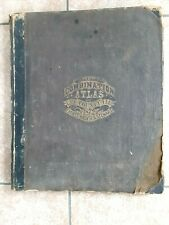 New Listing1872 Rare Original Map Atlas of Lee County Illinois, Dixon & More!