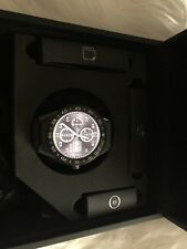 Tag Heuer Men's SBF8A8001.11FT6104 'Connected Smartwatch Grey Leather Watch