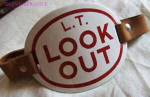Look Out Badge Enamel Armband London Transport - BRASSARD TRANSPORTS LONDRES