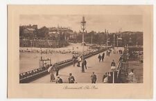 Bournemouth, The Pier, Tuck Sepia Plate Marked Postcard, A855