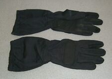 NEW Black Tactical Gloves Cut, Heat, and Flame Resistant! ADULT MEDIUM SIZE!