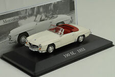 1955 Mercedes-Benz W121 190 SL white weiss 1:43 IXO Altaya Collection