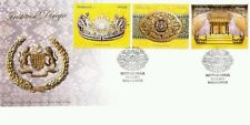 Royal Institution Malaysia 2011 Headgear King Culture (stamp FDC)