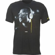 "Nike LeBron ""Beats By Dr. Dre"" T-Shirt (2XL) Black/Yellow 533485-012 New W/Tag"