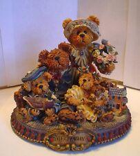 Boyds-Bearstone-Gary, Tina, Matt & Bailey-L.E.-No Box-#227804-Sale (Bb12)