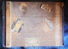 More details for fortnum & mason wood cigar / chocolate liqueur box cordon rouge 1928