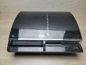 Sony PlayStation 3 PS3 80GB  CECHE01Backwards Compatible *FOR PARTS** Red Light
