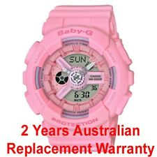 CASIO BABY-G LADIES WATCH BA-110-4A1 FREE EXPRESS PINK BA-110-4A1DR 2Y WARRANTY