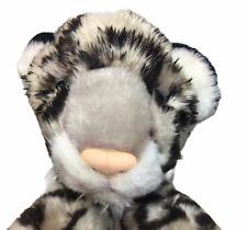 "RARE Baby Leopard Cheetah Cub Plush Cat Stuffed Animal K&M International 9"" Toy"