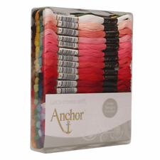 Anchor 80 Skeins Stranded Egyptian Cotton Excellence Embroidery Thread Set