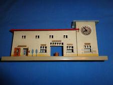 Kibri Durchgang Train Station, Platform w/Clock Tower. Made in US Zone Germany