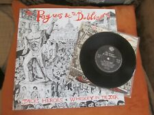 THE POGUES/DUBLINERS IRISH ROVER  JACKS /WHISKEY/12 INCH AND 7 INCH EX VINYL