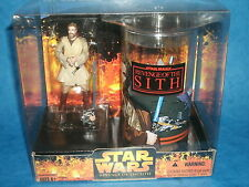 STAR WARS CHARACTER CUP & FIGURE SETS: OBI-WAN KENOBI w/Revenge Of The Sith Cup