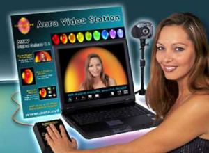 Aurakamera Aura Video Station mit Laptop, Handsensor und Kamera