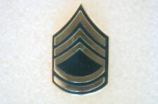 US USA Army E-7 Sergeant 1st Class Military Hat Lapel Pin