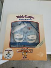 Vintage Teddy Ruxpin Workout Outfit, 1985 World of Wonder